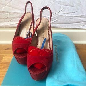 Red Jean-Michel Heels